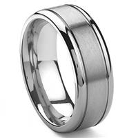 GRIFFIS Tungsten Carbide Wedding Band Ring