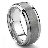 ALTOALPHA Tungsten Carbide Matte Men's Ring