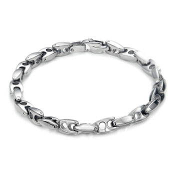 Titanium Men's 7MM Link Bracelet